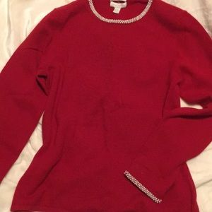 EUC 100 percent Cashmere Sweater